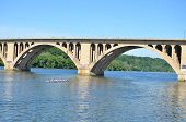 picture of rosslyn  - Key Bridge  - JPG