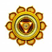 The Third Chakra isolated