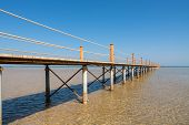 Pier At Red Sea. El Gouna, Egypt