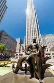 pic of rockefeller  - NEW YORK CITY  - JPG