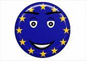 Smiley Eu Flag