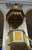 Cathedral of St. Margherita.Tarquinia. Lazio. Italy.