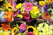 Gorgeous arrangements of floral bouquets