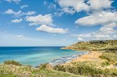 Ramla Bay, On The Northern Side Of Gozo, Malta