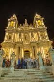 Santa Marija Assunta procesión en Gudja, Malta.