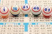 Bingo Ball On Card