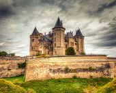 Chateau de Saumur Castle in France