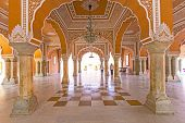Chandra Mahal in City Palace Jaipur India