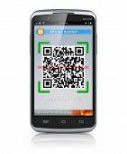 Smartphone exploración QR code