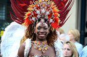 Brazilian dancer, Merchant City Festival, Glasgow