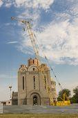 Orthodoxy Church Under Construction - Uman, Ukraine.