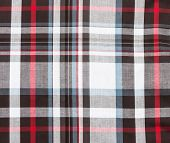 Fabric Plaid Background