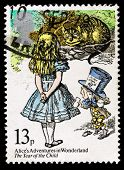 Britain Alice In Wonderland Postage Stamp