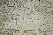 Cracked Concrete Slab
