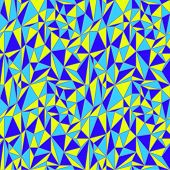 Irregular triangles pattern
