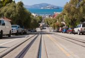 Alcatraz From Hyde Street