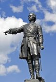 Historical Monument To Tsar Peter The Great poster