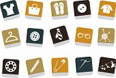 stock photo of clothes hanger  - Vector icons pack  - JPG
