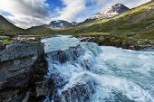 mountains in Norway, Jotunheimen National Park