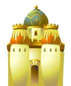 Castelo de ouro islâmica
