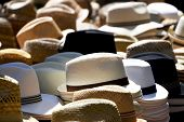 Hats on marked