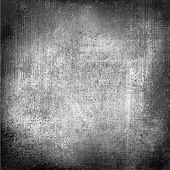 black and white background with dark border and vintage grunge vignette