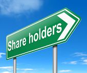 Share Holders Concept.