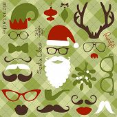 image of mustache  - Retro Party set  - JPG