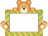 Teddy Bear With Blank Label