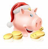 Saving For Christmas Concept