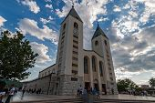 The Saint James Church In Medjugorje, Bosnia And Herzegovina
