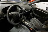 Interior of a high class car