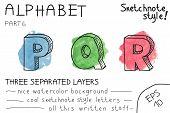 Colorful alphabet - Part 6