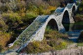 Old Bridge In Greece
