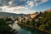 The Mostar Bridge