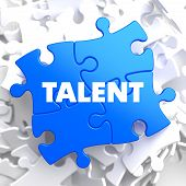 Talent on Blue Puzzle.