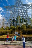 Children at the Roanoke Star