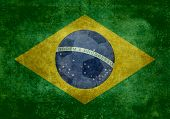 stock photo of brazil carnival  - The National flag of Brazil - JPG