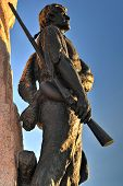 Mormon Battalion Monument, Salt Lake City, Utah