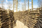 Ww1 Trench In Bayernwald World War One Belgium