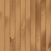 image of wood pieces  - Vector Illustration of Seamless Wood Plank Texture Background - JPG
