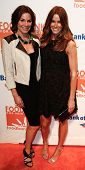 NEW YORK-APR 9: TV personality Countess LuAnn de Lesseps (L) and Kelly Bensimon attend the Food Bank