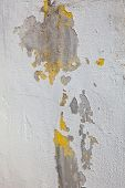 Grunge Wall Texture With Peeling Paint