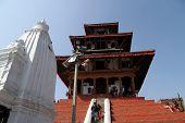Temple In Khatmandu