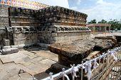 Shrine Near Stupa