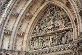 Tympanum Of St Peter And St Paul Basilica
