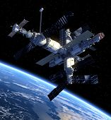 picture of starship  - Space Station - JPG