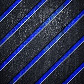 metal background with stripes
