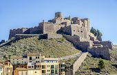 stock photo of parador  - Cardona castle is a famous medieval castle in Catalonia - JPG