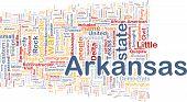 Arkansas State Background Concept